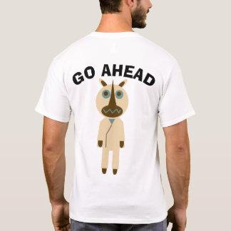 GO AHEAD rhinoceros T-Shirt