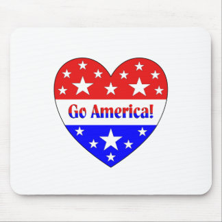 Go America Mouse Pad