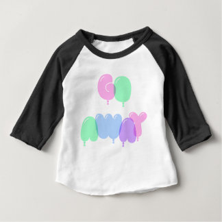 Go Away Bubble Letters Baby T-Shirt