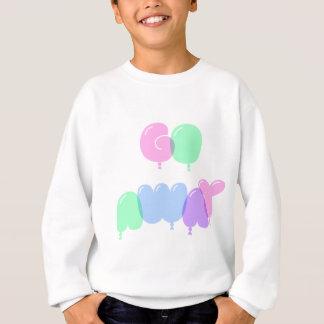 Go Away Bubble Letters Sweatshirt