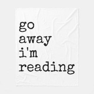 Go away I'm reading blanket
