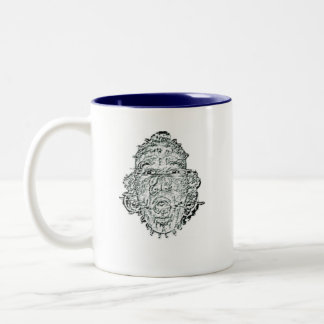 Go Be Stupid On Someone Else's P... Two-Tone Coffee Mug