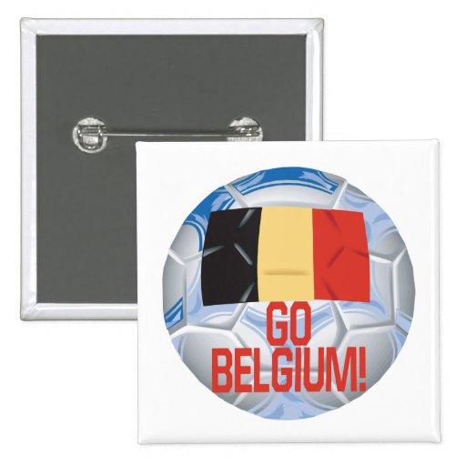 Go Belgium Pin