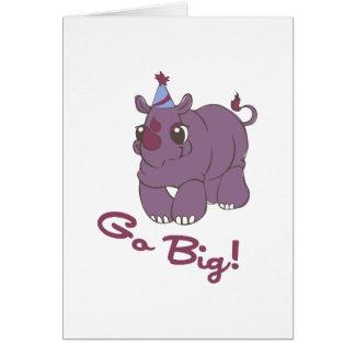 Go Big! Card
