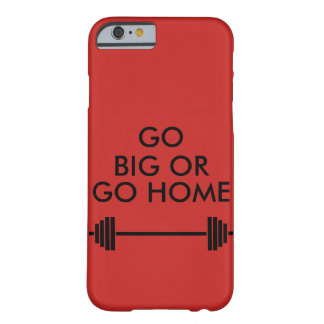 GO BIG OR GO HOME CASE RED