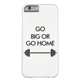 Go big or go home white iphone case