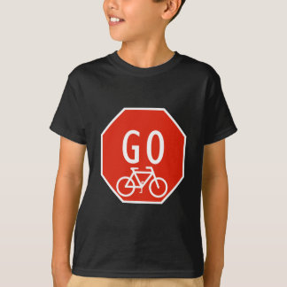 Go Bike Sign T-Shirt