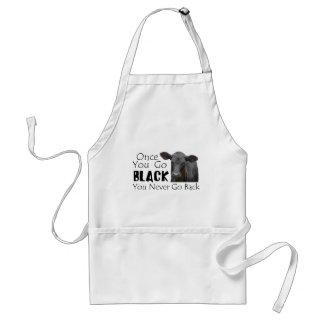 Go Black Angus Standard Apron