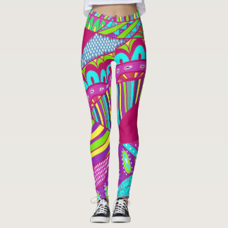 Go Bold 2 Pop Fashion Leggings