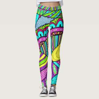 Go Bold Pop Fashion Leggings