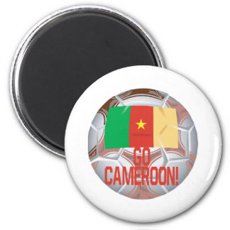 Go Cameroon 2 Inch Round Magnet