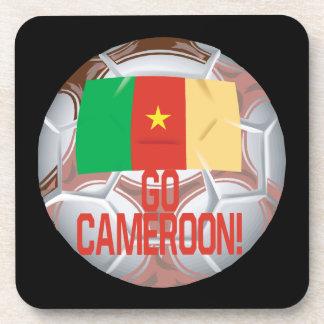 Go Cameroon Beverage Coasters