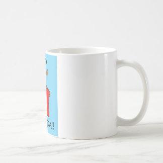 Go Canada!! with Blue Background Coffee Mug