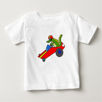 Go Cart Gator Baby T-Shirt