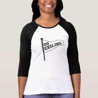 Go Ceiling! Ceiling Fan Costume Pennant T-shirt