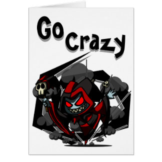 Go Crazy Birthday Card