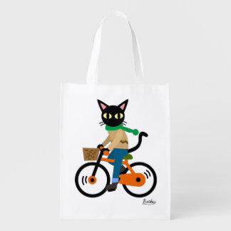Go Cycling Market Tote