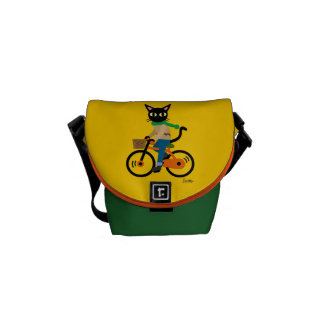 Go Cycling! Courier Bag