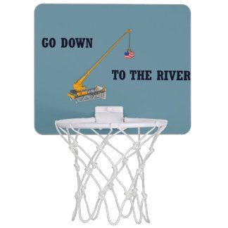 Go down to the river mini basketball hoop