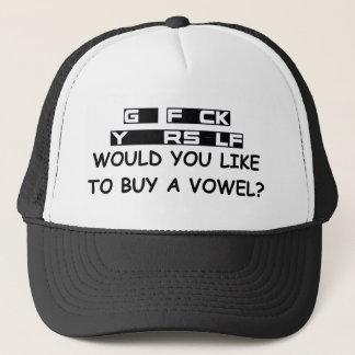 GO F URSELF TRUCKER HAT