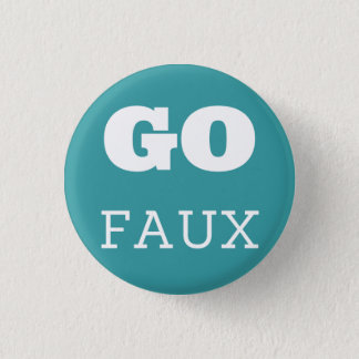 GO FAUX 1 INCH ROUND BUTTON