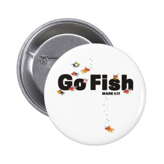 Go Fish Pinback Buttons