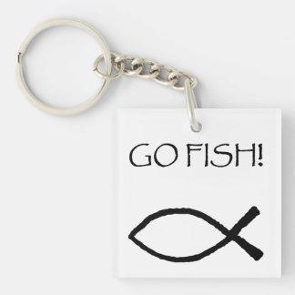 Go Fish Keychain