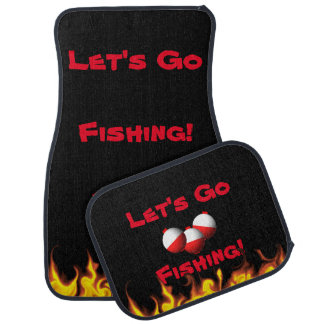 Go Fishing Car Liners