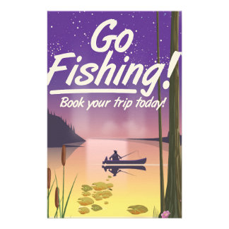 Go Fishing! Stationery