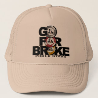 go for broke poker hat