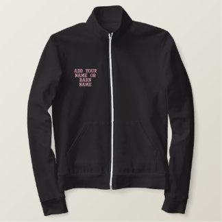 Go For It Hunter Jumper Embroidered Track Jacket