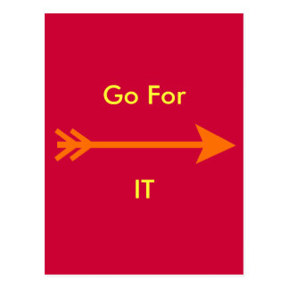 Go For IT jGibney The MUSEUM Zazzle Postcard