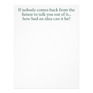 Go For It! Letterhead