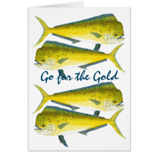 Go for the Gold-Dorados Card