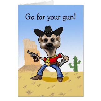 Go for your gun! card