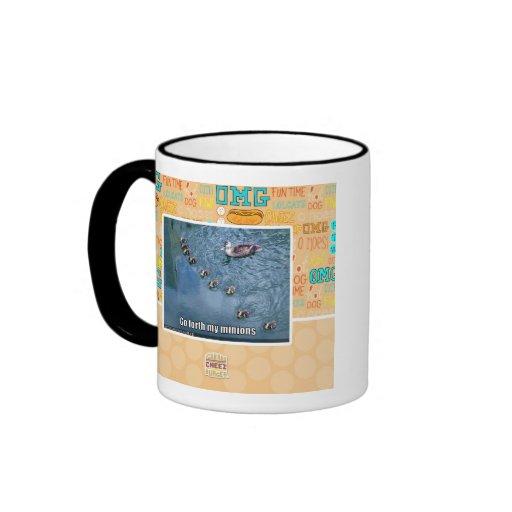 Go forth my minions mugs