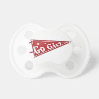 GO GIRL CUTE BooginHead® Custom Pacifier