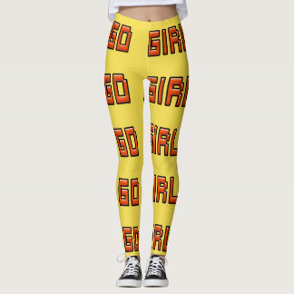 GO Girl Women Workout Tights. Leggings