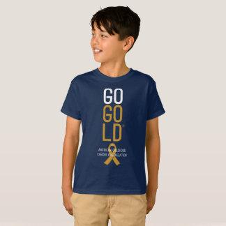 Go Gold® Logo Dark Shirt Youth Him