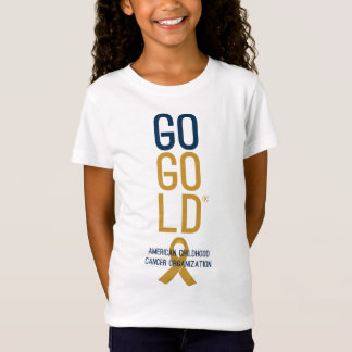 Go Gold® Logo Light Shirt Youth Girls