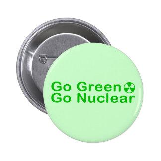 go_green 2 inch round button