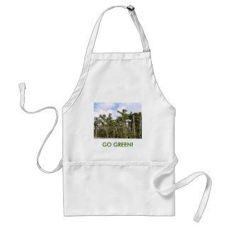 GO GREEN APRONS