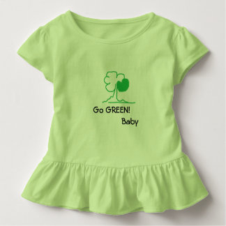 Go GREEN! Baby Toddler T-shirt