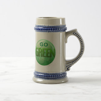 Go Green Beer Stein