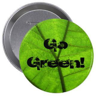 Go Green! Button