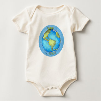 Go Green - Earth Day Baby Bodysuit