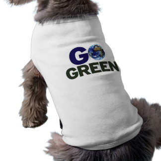 Go green for earth day pet clothing