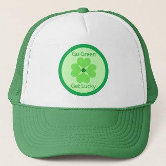 Go Green Get Lucky - Cap