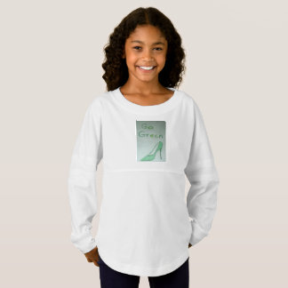 Go Green Girls Jersey T-shirt