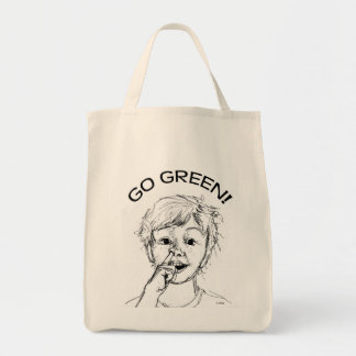 Go Green! Grocery Tote